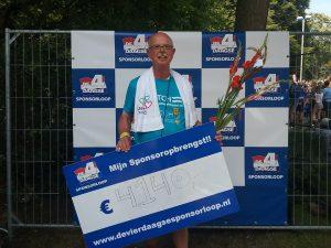 Wedren Vierdaagsesponsorloop 22.7.16 4.140 euro